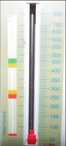 peak-flow-meter ampelskala